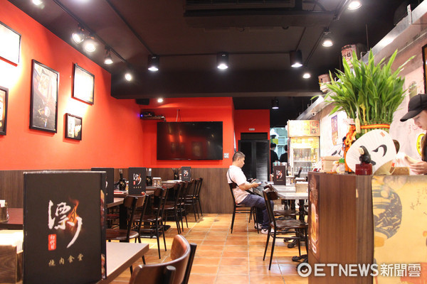 ▲▼漂丿燒肉食堂,一夫當關極上黑豚戰斧丼。(圖/台灣記者朋友黃士原攝)