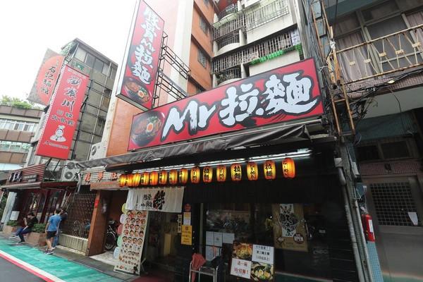 2012年開業的公館店是Mr.拉麵業績最好的分店,月營收近200萬元。