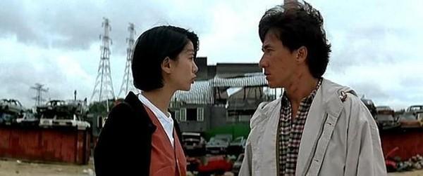 袁咏仪,成龙1995年合作《霹雳火》.(图/翻摄自电影剧照)