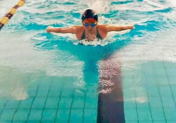 世大運加油沒提到游泳小小瑜:覺得鼻酸。(圖/翻攝自張芯瑜臉書)