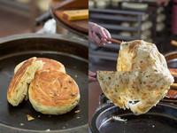 ▲只賣厚薄兩味 理化老師的山東蔥油餅
