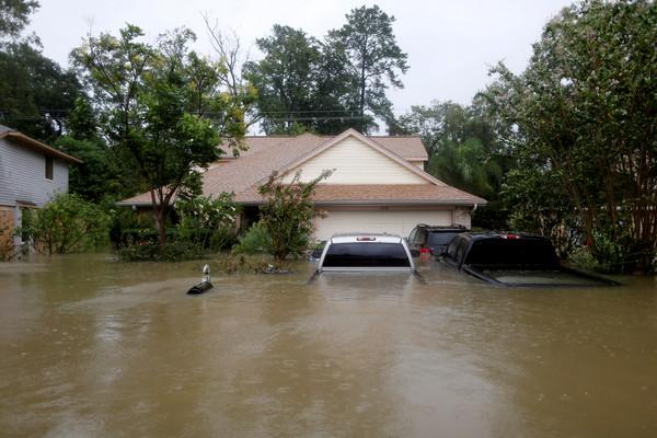 ▲▼德州,哈維颶風,洪水,淹水。(圖/路透社)