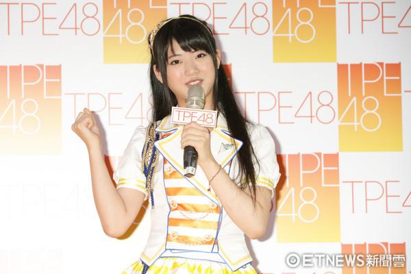 ▲TPE48台灣海選記者會-嘉賓AKB48馬嘉伶。(圖/記者林世文攝)