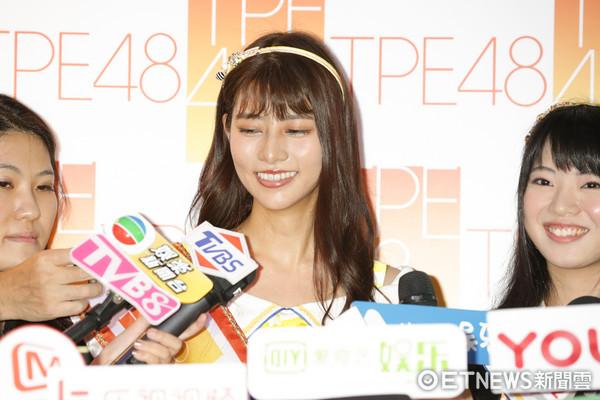 ▲TPE48台灣海選記者會-嘉賓AKB48阿部瑪利亞。(圖/記者林世文攝)
