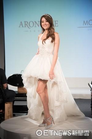 ▲賴琳恩婚期確定。賴琳恩出席LOOKs!鞋靴生活節。(圖/翻攝臉書,公關照)