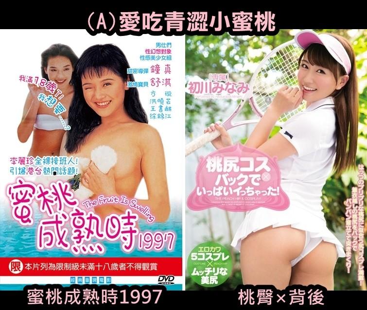 今昔成人片測驗(圖/業者isch.tv提供)