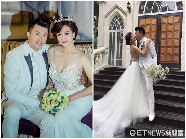 ▲文汶和吳皓昇拍婚紗。(圖/經紀人提供)