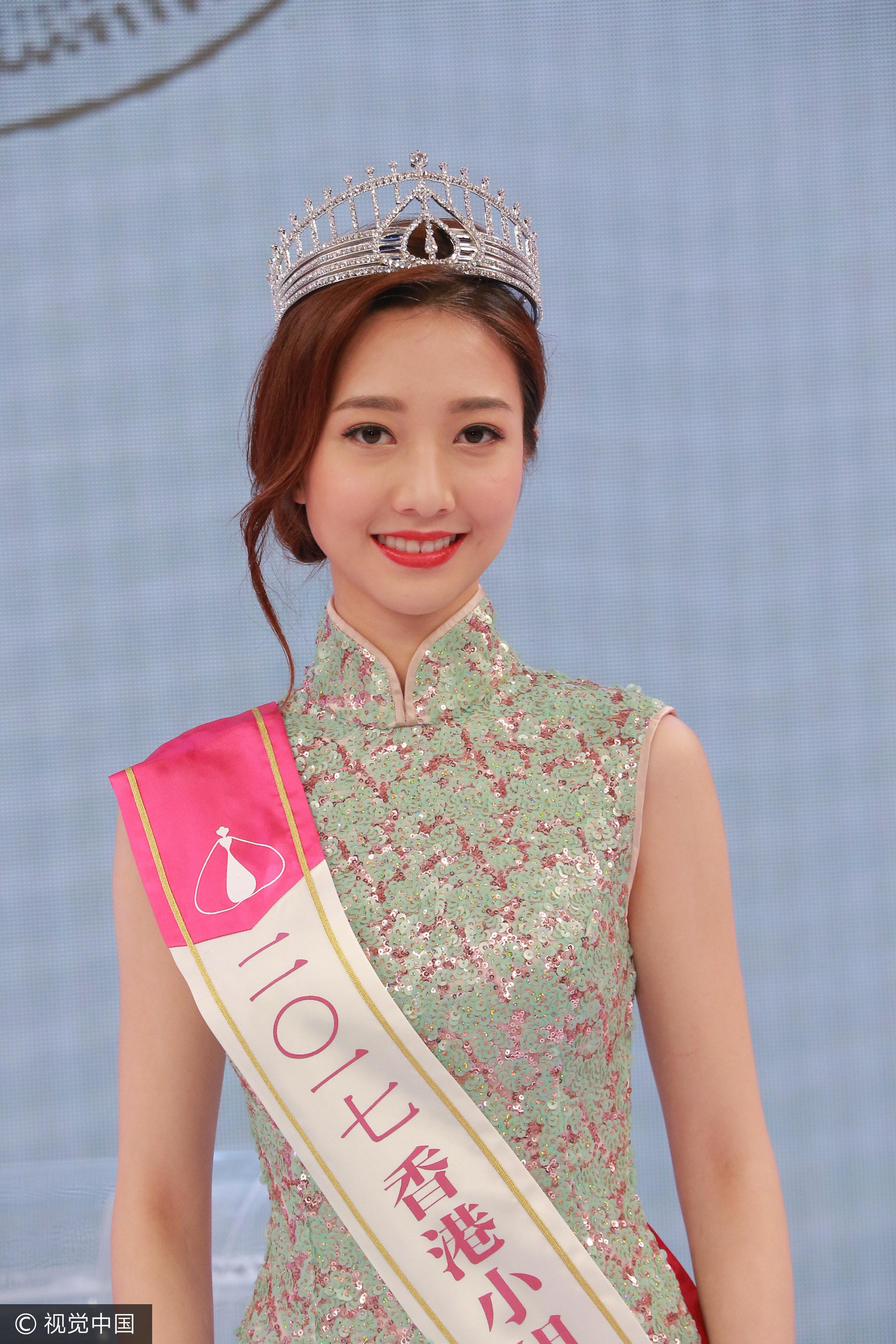 香港小姐出爐!但網友推亞軍最正…「冠軍一定有個富爸爸」(圖/視覺中國)