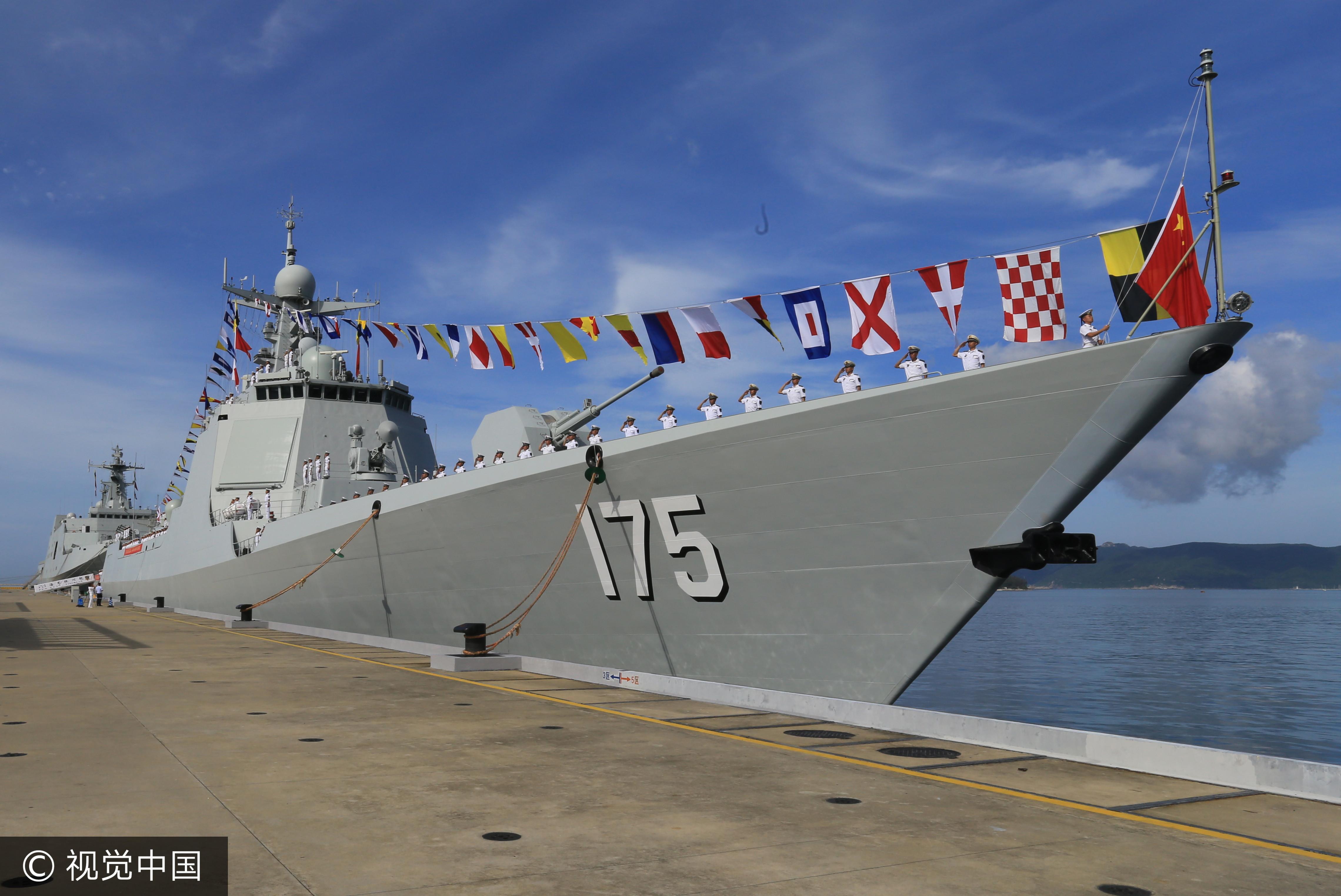 ▲ 中華 神盾 艦, 052D 型 導彈 驅逐艦. (圖 / 视覺 中國)