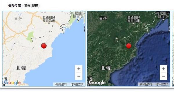 中国地震台网测定,今(23)日16时29分在朝鲜丰溪里核试场(北纬41.