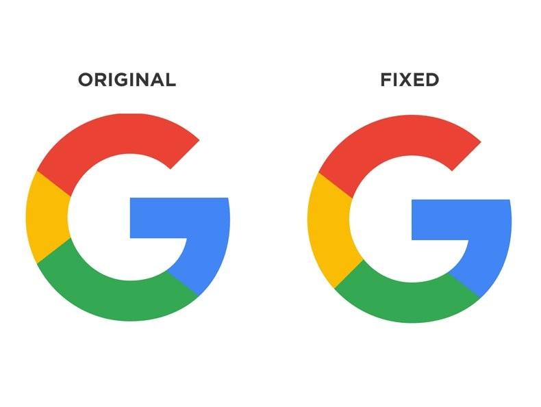 画个正圆会死吗 Google icon逼疯强迫症 网友 凡人不懂设计