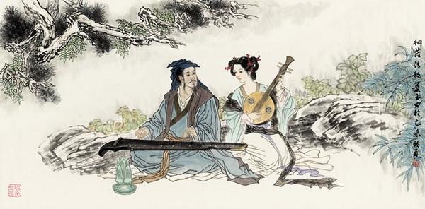 萧培丽/两岸工笔画展 气静神凝雅韵精炼