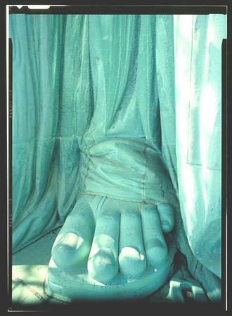 腳趾,希臘腳,羅馬腳,埃及腳,自由女神,雕像,正妹,希臘腳