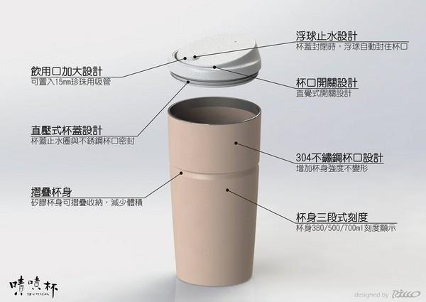 台灣設計「會長高」的環保杯嘖嘖 募資吸3千多人搶著愛地球