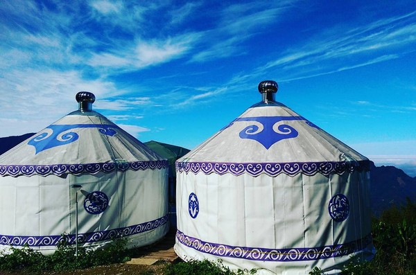 坐拥云海,星空,蒙古包的新竹露营秘境