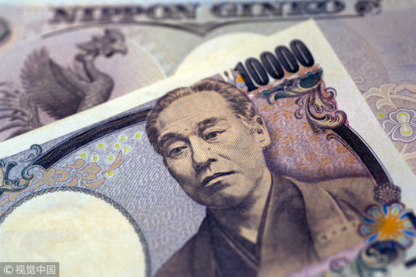 ▲ Yen, rob bank, bank, Japanese currency, bank notes, foreign currency. (Photo / Visual China)