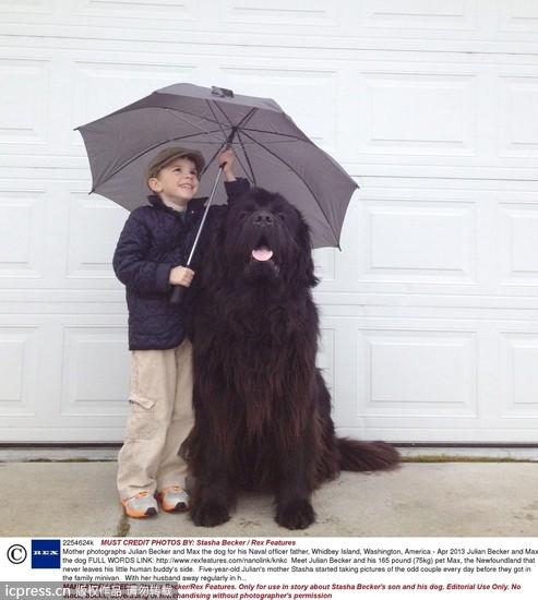 沟通无障碍!10张图看见小孩与动物的真情