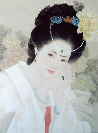 中国古代四大美女之一杨贵妃.(图/取自网路)