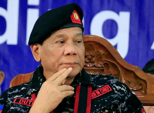 ▲菲律賓總統杜特蒂(Rodrigo Duterte)。(圖/路透社)