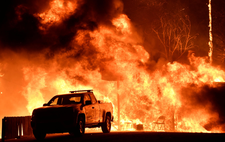 森林大火 高清图片
