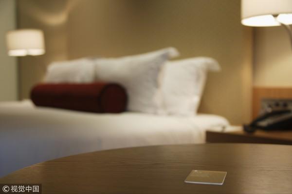 ▲旅館,飯店,住宿,雙人床,蜜月,度假村房間示意圖。(圖/CFP)
