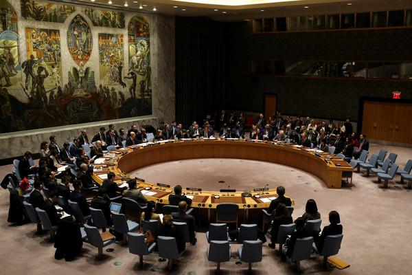 ▲▼聯合國安理會在12月22日通過對北韓更嚴厲制裁的決議。(圖/路透社)