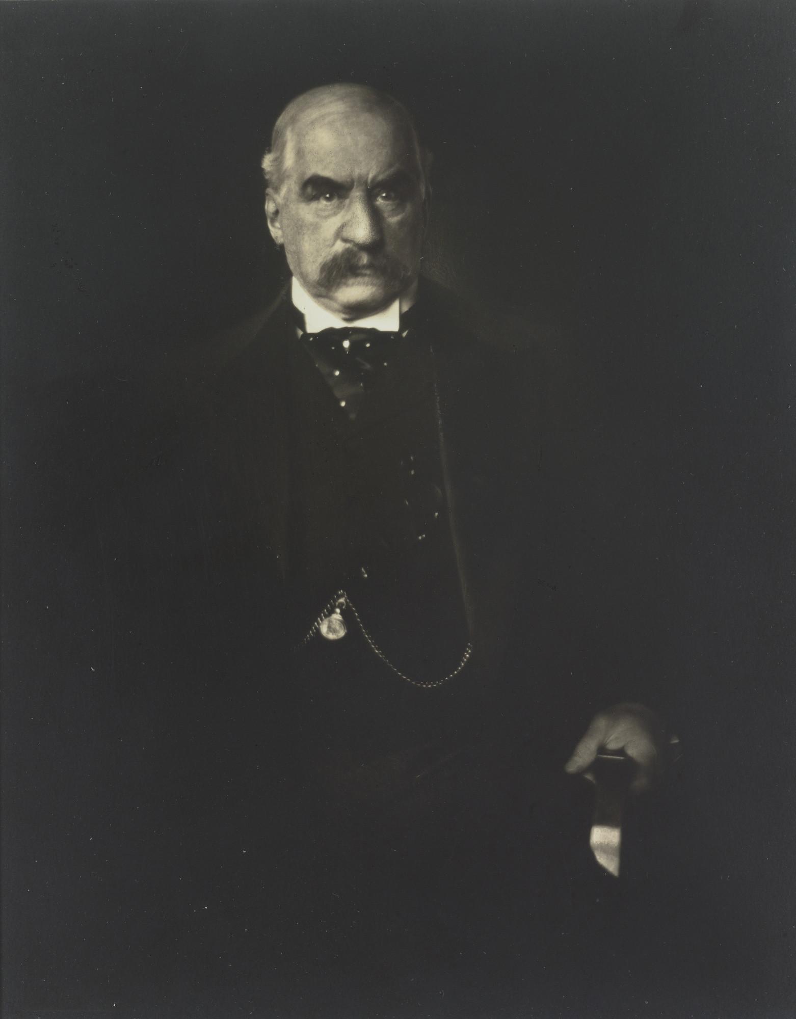 银行家摩根(j. p. morgan)(图/翻摄自wikipedia,下同)