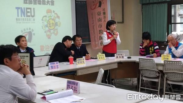 ▲國民黨台南市長參選人黃秀霜,為台南市幼教改革提出建議。(圖/黃秀霜提供)