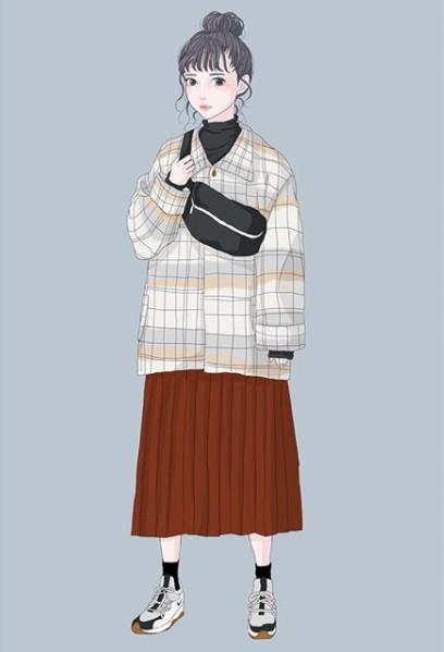 就喜欢小清新手绘风!质感女孩必收藏「穿搭ig帐号」7选