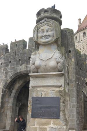 ▲南法古堡城~卡尔卡颂,是全世界唯一的「双城墙古城堡」,己被列