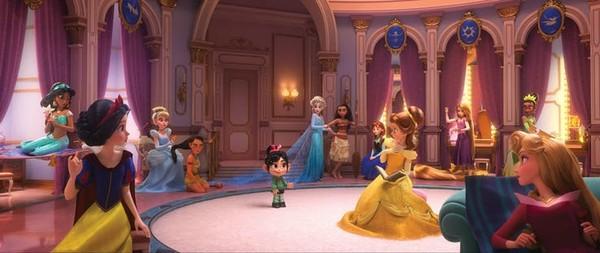 灰姑娘,《风中奇缘》宝嘉康蒂,《冰雪奇缘》艾莎公主,《海洋奇缘》莫