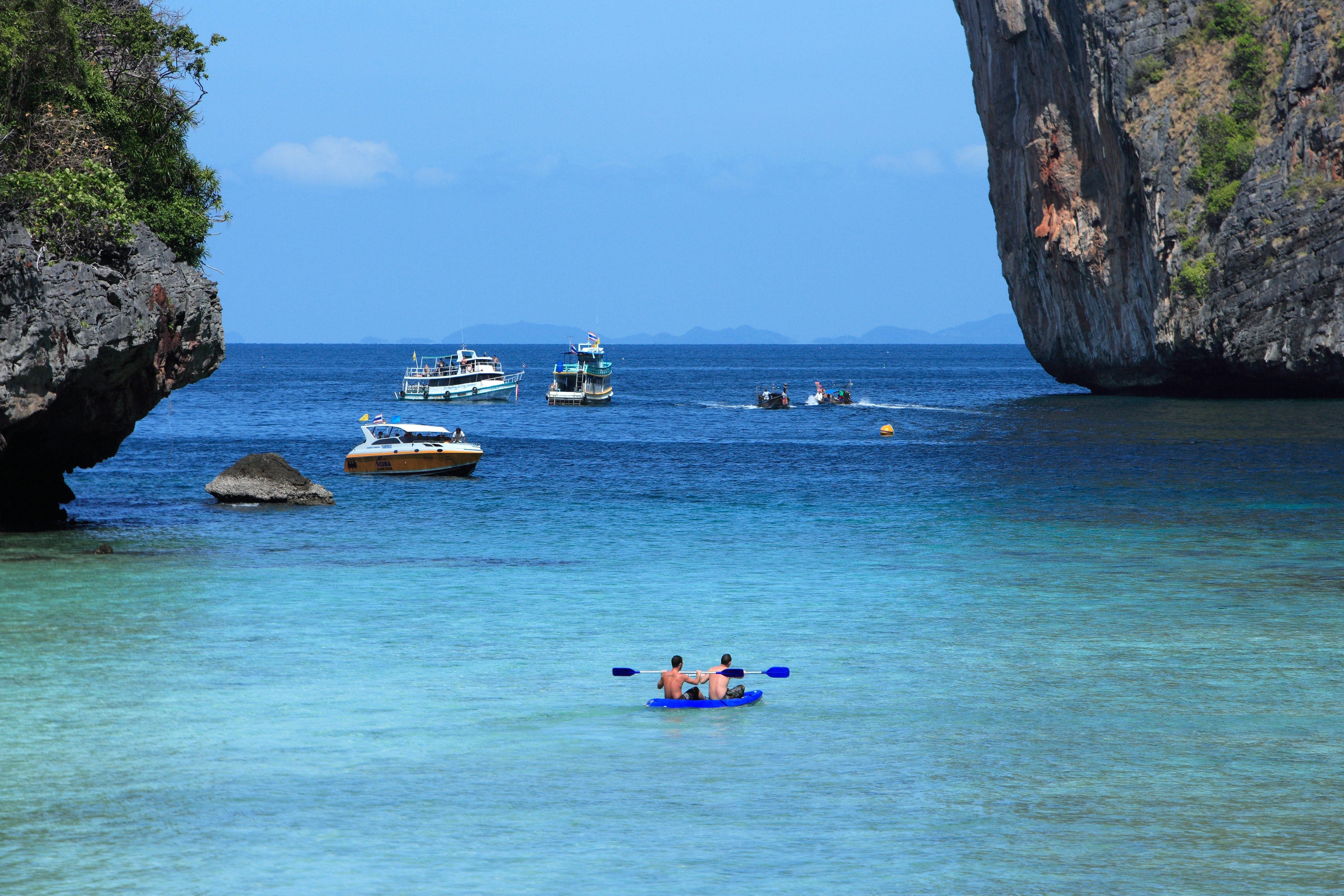 泰国旅游胜地pp岛玛雅湾 将无限期关闭