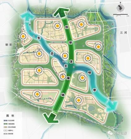 北京城市副中心 2035年「人均绿地面积」30平方公尺
