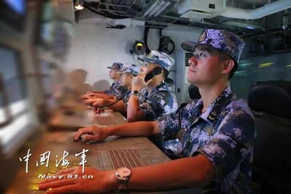 ▲ 解放軍 資訊: 「中華 神盾 艦」 航 經 台 東 海峽, 台灣 海峽. (圖 / 中國 海事)