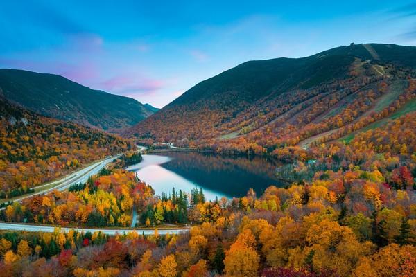 白山国家森林保护区洋溢秋天的气息.(图/shutterstock.com提供)