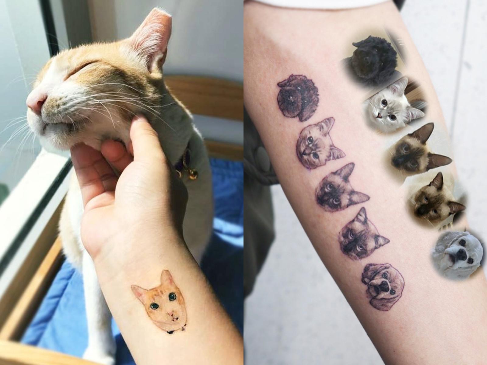 可爱小孩纹身霸气图片