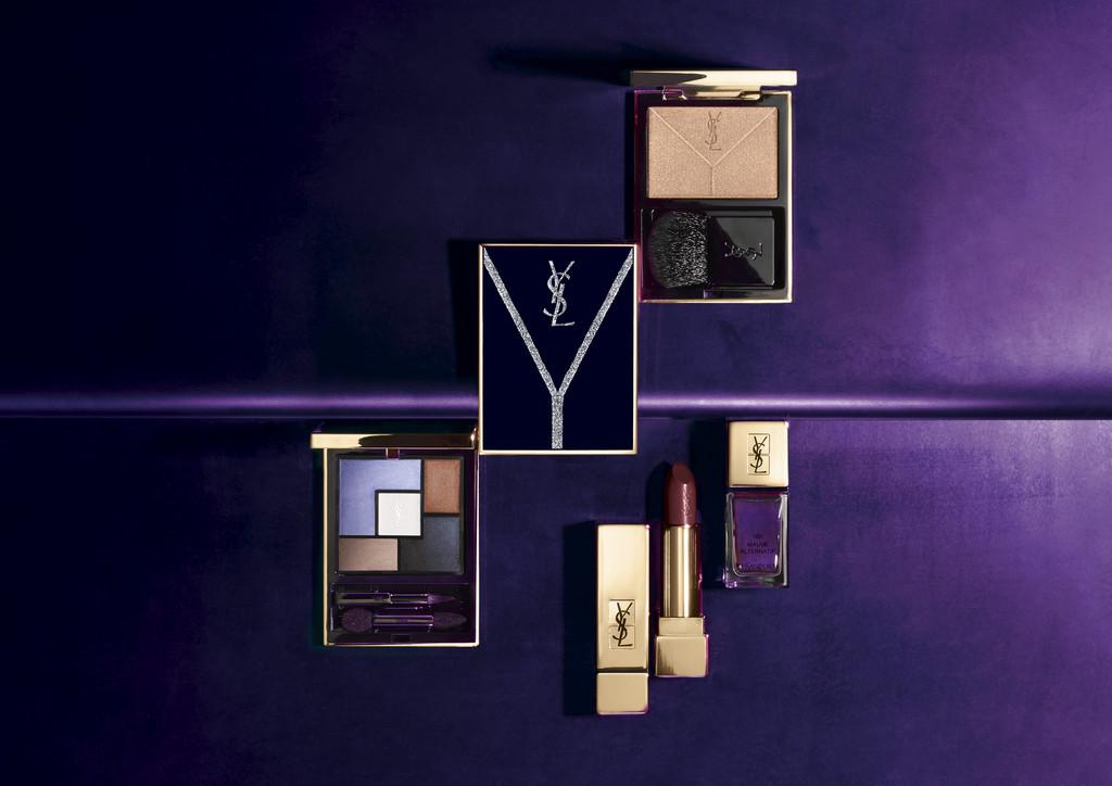 推出暗紫诱惑,其中一款订制彩妆笔盒是超可爱的蜡笔,能够当作眼影,打