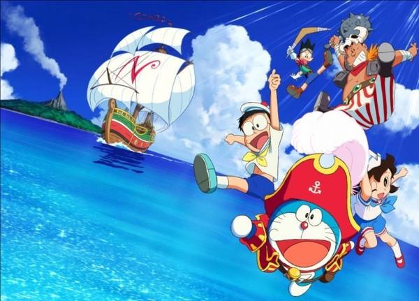 疯电影 电影哆啦A梦 大雄的金银岛 无可取代的宝藏