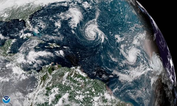 飓风 佛罗伦斯 生成 逼近美国东岸 3州宣布紧急状态