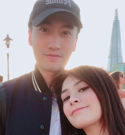 阿娇登记结婚了! 正式成台湾媳梦幻注册场地眺无敌海景