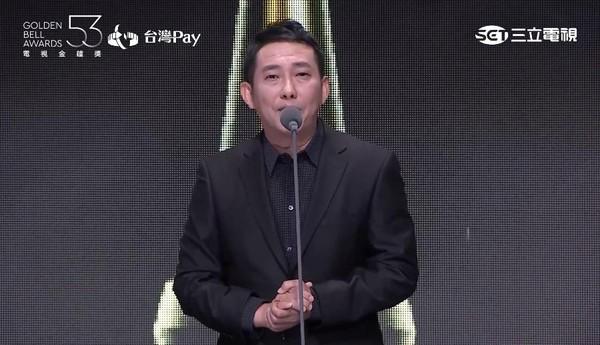 ▲2018第53届电视金钟奖颁奖典礼屈中恒.(图/翻摄自YouTube)-金