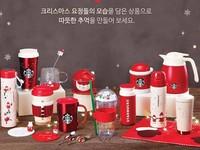 ▲南韓星巴克聖誕節新品(圖/翻攝自韓國星巴克臉書)