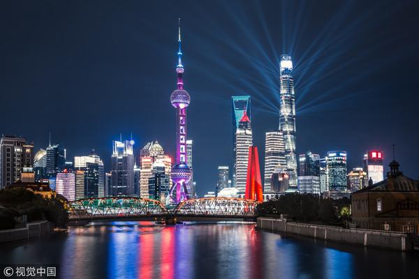 ▼上海景观中心,东方明珠 .(图/cfp)图片