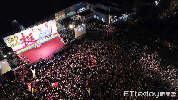 ▲ ▼ Kaohsiung Mayor of South Korea Yu Meiqiang is a photo of evening entertainment, South Korea Yu. (Photo / Reporter Xu Wenbin)