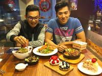 ▲▼老闆Alex(右)才31歲就擁有二家餐廳。(圖/記者陳建竹攝)