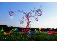 ▲溪遊花彩區的花咕朵兒。(圖/大溪?#26053;?#20241;閒農業發展協會提供)