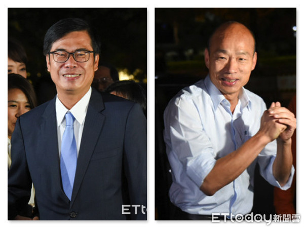 ▲ Kaohsiung, candidate of the mayor of Chen Qimai, the first session of Korea's debate of Yu. (Rysunek / ETtoday News Cloud)