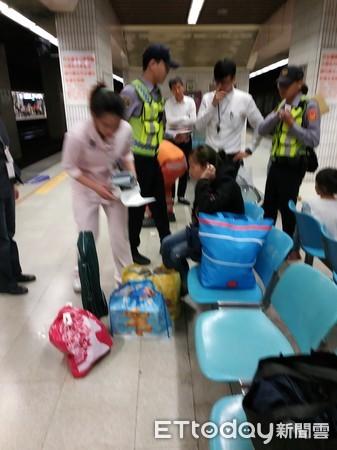 ▲ Shots at Banqiao Station. (Figure / user gave Wang Yazu)