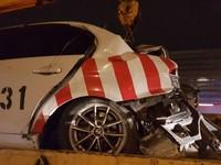 ▲國道處理車禍遭追撞,2警遭夾中傷1命危          。(圖/記者陳凱力翻攝)