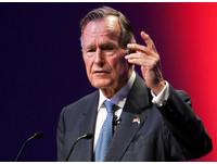 ▲美國前總統老布希(George H. W. Bush)。(圖/路透社)